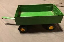 John Deere Ertl Wagon Trailer Hay Grain Vehicle Farm Toy