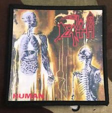 Death Human Printed Patch D040P Massacre Obituary Carcass Nasum Napalm Death