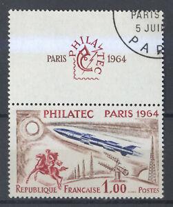 FRANCE 1422 PHILATEC, avec vignette, OB PREMIER JOUR NEUF xxCote: 30€+