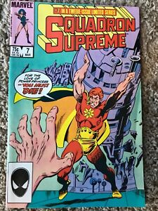 Squadron Supreme #7 (Marvel, March 1986) NM (9.4)