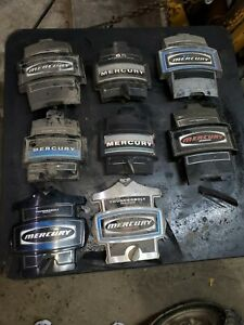 MERCURY OUTBOARD FACE PLATES. YOUR CHOICE
