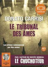 LIVRE AUDIO / LE TRIBUNAL DES ÂMES - DONATO CARRISI - MP3 - 13 H.  2 CD  - 30 %