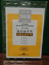 140/90 Scott Hingeless Stamp collection Mount Black Postal cards 10 pack Germany