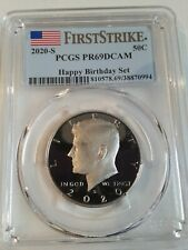 2020S KENNEDY CLAD  50C HAPPY BIRTHDAY SET PCGS PR69  DCAM