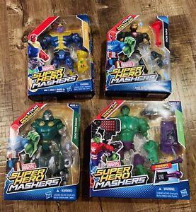 Marvel Super Hero Mashers 4-Pack Combo  NEW