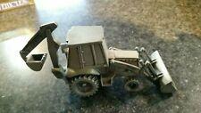 Case 580 k 4x4 Backhoe Loader Tractor   Spec Cast Pewter
