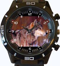 Gris Wolf Nuevo Gt Serie Deportes Reloj Unisex