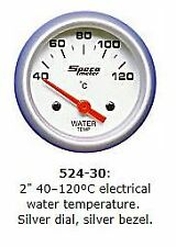 "2"" SPECO SPORTS ELECTRIC WATER TEMP GAUGE P/N 524-30"