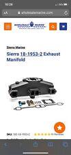 Sierra sbc marine exhaust manifolds - pair for Mercruiser