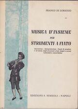 Franco di Lorenzo, Musica d'insieme per strumenti a fiato, Simeoli, musica, 1964