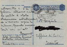 """0127) WW2 BOLLO """"COMANDO DISTRETTO MILITARE DI PADOVA"""" 13/4/43."""