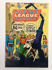 JUSTICE LEAGUE OF AMERICA (1969) 73 1ST APPEARANCE EARTH 2 GOLDEN AGE SUPERMAN