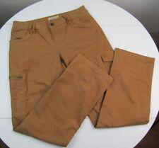 Natural Reflections Womens Cotton Blend Tan Cargo Pants sz 8