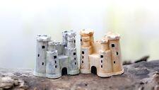 Miniature Fairy Garden Castle Tower Terrarium Accessories (USA FAST SHIPPING)