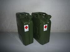 2 x 20 Liter Benzinkanister Metall GGVS mit Sicherungsstift