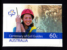 2010 Centenary of Girl Guides - 60c  Booklet Stamp