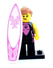 NEW LEGO MINIFIGURES SERIES 4 8804 - Surfer Girl