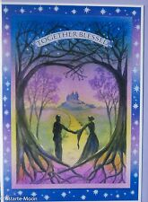 Wendy Andrew Pagan Valentines Card Handfasting wedding engagement anniversary
