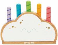 Le Toy Van Petilou BABY RAINBOW CLOUD POP Wooden Toy BN
