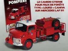 N° 24 MERCEDES LAF 911 Camion Pompier citerne pour feux de forêts 1/43 Neuf
