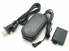 AC Power Adapter + DC Coupler For ACK-E5 Canon EOS Kiss F Kiss X2 X3 Rebel T1i