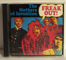 FRANK ZAPPA MOTHERS OF INVENTION - FREAK OUT - ORIG. '87 RYKO JAPAN CD - MINT!!!