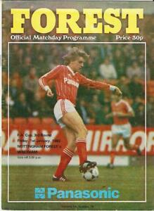 Nottingham v Wrexham - 1981-82 F.A. Cup 3rd Round - Friday 1st January 1982