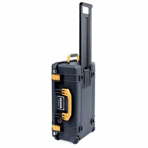 Black & Yellow Pelican 1535 air case. No foam / Empty.