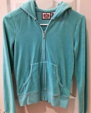 Juicy Couture Ladies Size Small Light Powder Blue Sweat Shirt Great Condition