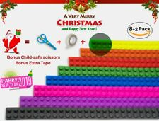 Toy Building Blocks Premium Block Tape for Legos, Rolls/Pack 12