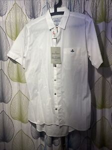 Vivienne Westwood Short Sleeve White Shirt Brand New With Tags XL