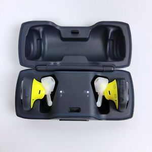Bose SoundSport Free wireless headphones Midnight Blue / Yellow Citron