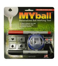 MYball - Gambling Designs GOLF MARKING Personalized Golf Ball Marking Tool