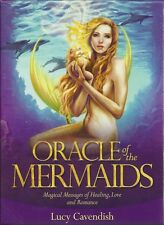 ORACLE OF THE MERMAIDS Tarot Kit Card Deck Fairy Book Set Selina Fenech