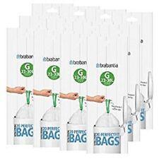 12 x Brabantia Bin Liner G, 23-30 Litre Slim - 240 Bags in total  [6265]