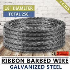Razor / Helical Barbed Wire Galvanized Steel 18