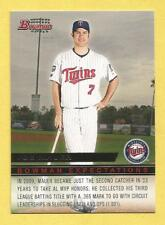 JOE MAUER/BUSTER POSEY 2010 Bowman Expectations #BE13 Twins/Giants