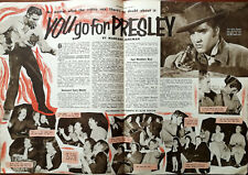 More details for elvis presley no matter what the critics say you go for presley film article1957
