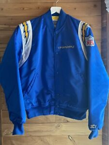 VTG Los Angeles San Diego Chargers Starter Jacket 90s RARE NFL Justin Herbert