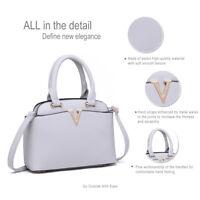Ladies Celebrity Handbag PU Leather Slouchy Hobo Tote Shoulder Bag Soft