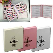 Nail Art Display Book 120 Tips For Salon Gel Polish Color Chart without Nail Tip