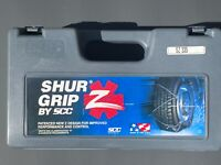 SCC Security chain co. SHUR GRIP Z snow chains SZ335 SZ 335