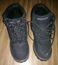 SKECHERS Black Winter Hiking Boots Youth Size 5