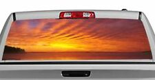 Truck Rear Window Decal Graphic [Nature / Magical Sunrise] 20x65in DC19108