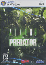 ALIENS VS PREDATOR - Sega Shooter PC Game XP/Vista/7 Science Fiction AvP - NEW!
