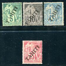 OCEANIE 1893 Yvert 10-11,17 * etc 340€(S5537