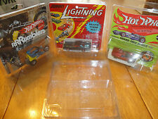 10 vintage protech car cases hot wheels topper johnny lightning redline  10 lot