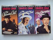 Charlie Chan Sidney Toler Mystery Thriller Lot