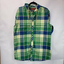 Burton Snowboard Men's Flannel dryride Button Front Shirt Hooded size M