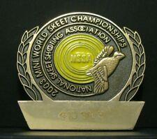 Nssa Mini World Skeet Championships 2003 Award Pin Quail Bird Trademark 410 Sr 3